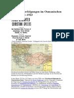 Griechenverfolgungen Im Osmanischen Reich 1914