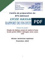 Projet Béton Armée