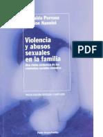 Perrone y Nannini (1998) Violencia y Abusos Sexuales en La Familia