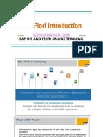SAP Fiori Introduction
