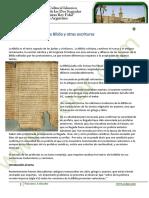 Muhammad Pyb en La Biblia y Otras Escrituras
