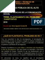 6. Planteamiento Del Problema Cuantitativo