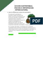 Produccion sustentable