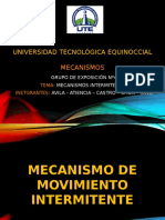 mecanismos de movimiento intermitente