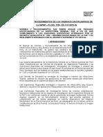 Manual de Procedimientos de Los Organos Disciplinarios de Ig-pnp