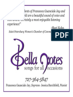 Bella Notes Ad Final