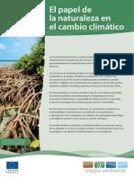 El papel de la naturaleza en el cambio climatico.pdf