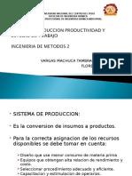 Sistema de Produccion Productividad y Estudio Del Trabajo