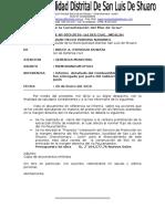 Informes Defensa Civil 2016