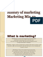 1 marketing history
