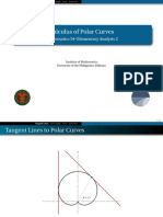 11 Calculus of Polar Curves - Handout