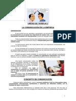 u.t. 2 La Comunicación en La Empresa