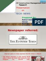 Newspaper Tech