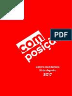 Carta Programa - Composição 2017