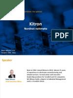 Kitron - Nordnet 2016.10.18