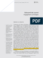 BRENEZ, Nicole. Edouard de Laurot - Engagement as Prolepsis.pdf