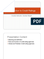 Credit Rating Lecture 1