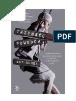 Asher Jay -Trzynaście Powodów