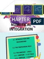 Chapter 5 Numerical Integration