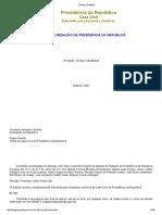 Manual Redação Oficial