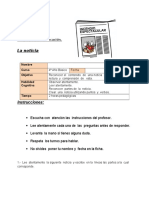 Ficha 5 Lenguaje Unidad 4to Clase 9