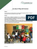 GVI Playa Del Carmen Monthly Achievement Report September 2016