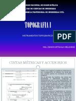 Xclases Topografia Unidad III Instrum Topograficos
