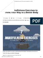 7 Easy Mindfulness Exercises to Think Your Way to a Better Body _ Yuri Elkaim