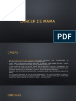 Cancer de Mama- Baltazar Martinez