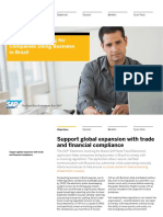 SAP E-Invoicing for Brazil