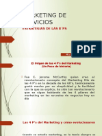 Marketing de Servicios. 8ps Pptx