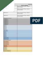 Lista de Chequeo Documento de Renovación
