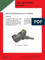 Bosch DF11 sensor