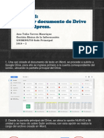 Tutorial Insertar Doc Drive en Wordpress 2016_2 Ana Torres