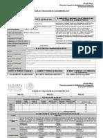 Cedula de Evaluacion Del Desempeño 2015