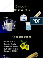 Biology I - What is PH
