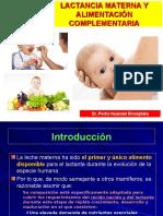 Nutrición Clínica - Lactancia Materna y Alimentación Complementaria