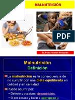 Nutrición Clínica - Malnutrición