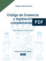 BOE. Código de Comercio y Legislación complementaria.pdf