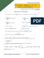 Ficha de Trabalho - Método de Indução Matemática
