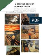Cuento de Terror a Paratir de Obras de Munch