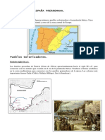 Trabajo de La España Prerromana