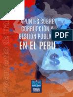 Corrupcion y Gestion Publica en El Peru - PJ 2016, 62p