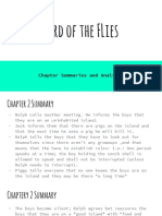 lotf chapter summaries and analysis