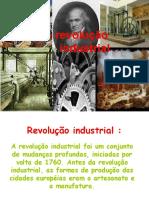 A revolução industrial - Tati, Carol, Larissa