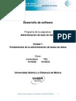 Fundamentos Admnistracion Bases Datos