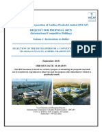 RFP for Convention Centre at Visakhapatnam Volume I
