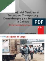 B71I6V_El Manejo Del Cerdo en El Embarque, Transporte y Desembarque y Su Impacto en La Calidad