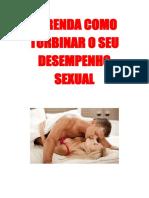Aprenda Como Turbinar o Seu Desempenho Sexual
