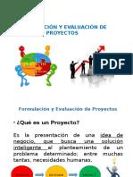 Formulación y Evaluación de Proyectos (1ra Unidad)